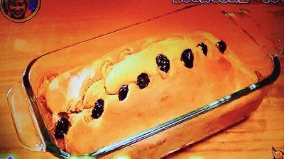 黒豆のパンケーキ
