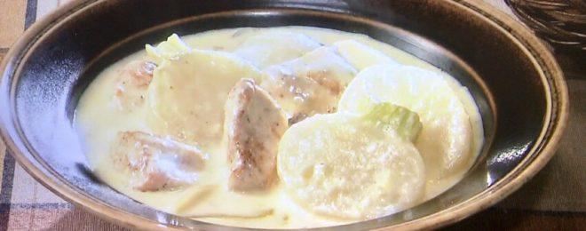 鶏肉とかぶのクリーム煮/きょうの料理ビギナーズ