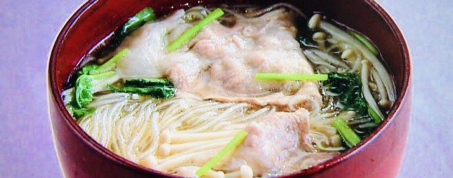 春雨の生姜スープ