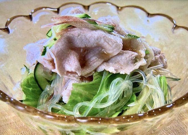 大原千鶴の甘酢だれで春雨サラダ/きょうの料理